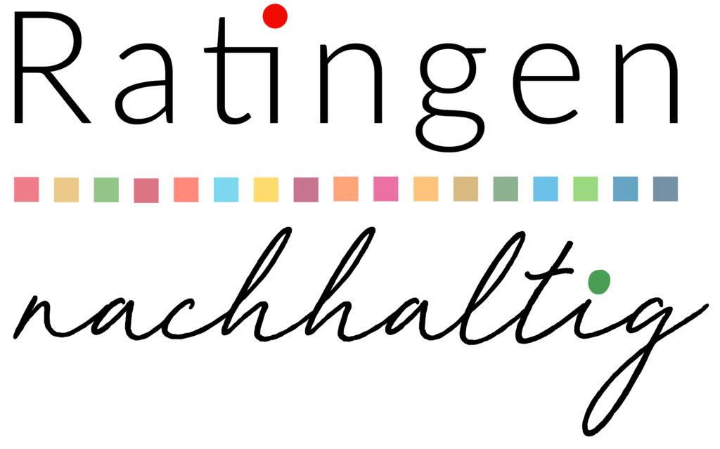 Logo für die Webseite, die sich mit Nachhaltigkeit in der Stadt Ratingen auseinandersetzt - ratingen-nachhaltig.de