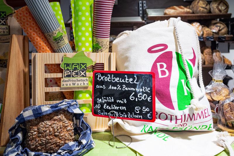 Ratingen.nachhaltig im Cafe und Bäckerei Himmelbrot und Kaffeesünde