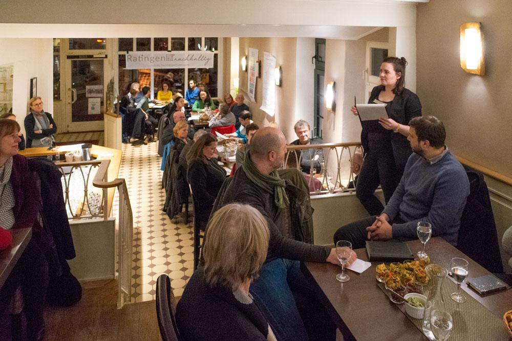 1. Netzwerktreffen von Ratingen.nachhaltig am 13.03.2019 im Café Bös in Ratingen