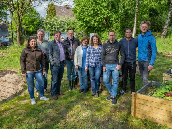 Ratingen.nachhaltig besucht das erste Urban Gardening-Projekt der Stadt Ratingen.