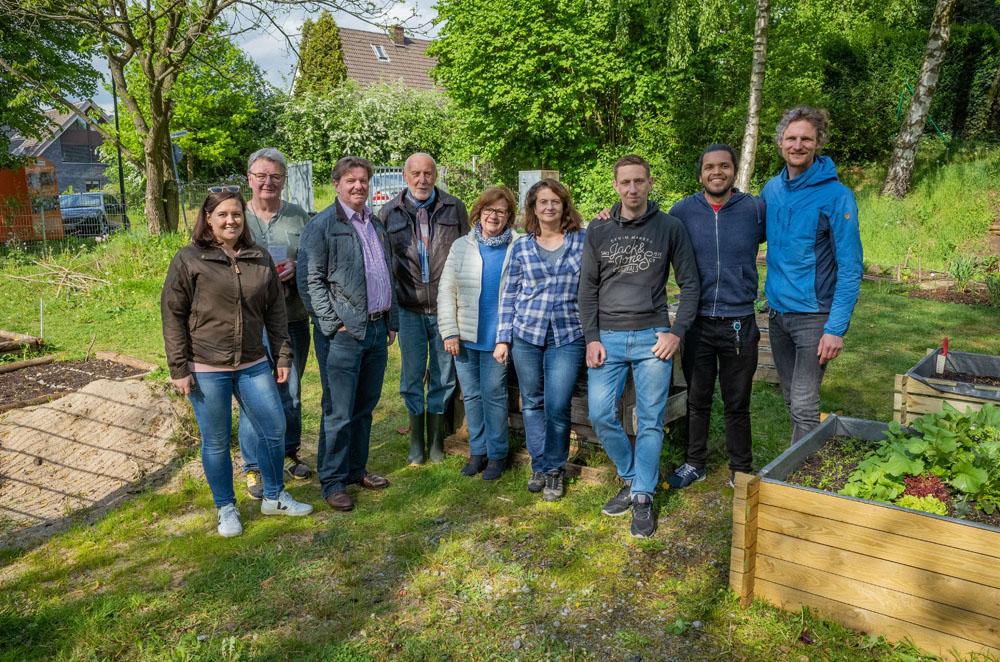 "Gemeinschaftsgarten Ratingen-Ost: ""Nur die Harten kommen in den Garten"""