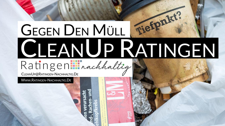 Ratingen.nachhhaltig organisiert den CleanUp Ratingen