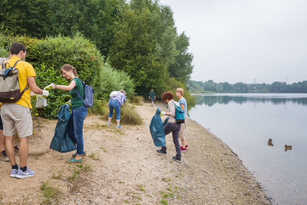 CleanUp Ratingen am Grünen See, organisiert von Ratingen.nachhaltig