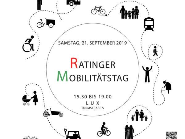 Ratinger Mobilitätstag_Plakat_Ratingen.nachhaltig_21.09.2019_LUX_15.30 bis 19.00 Uhr