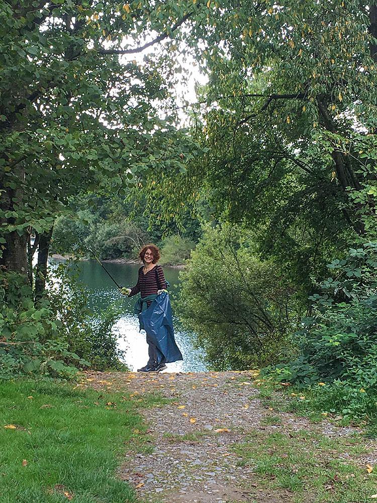 Ratingen.nachhaltig veranstaltete am 8. September 2019 den dritten CleanUp Ratingen am Grünen See