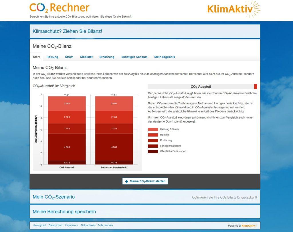 Ratingen.nachhaltig stellt den CO2-Rechner von KlimAktiv vor