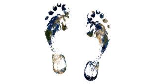 Wie groß ist dein Fußabdruck?