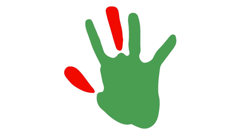 Ratingen.nachhaltig stellt den Handabdruck oder Hand Print vor