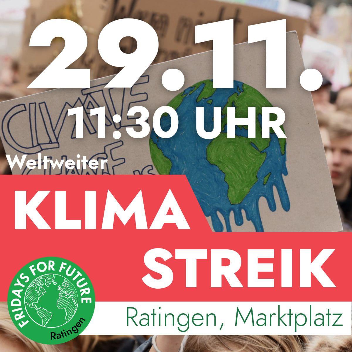 Ratingen.nachhaltig_Fridays for Future Ratingen_FFF_Klimastreik_29.11.2019
