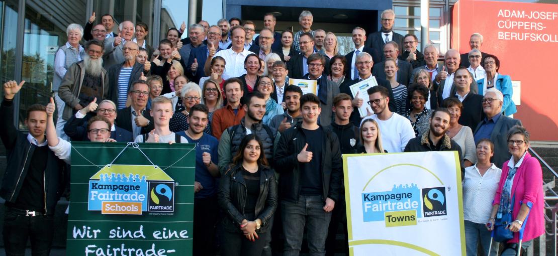 Ratingen will Fairtrade-Stadt bleiben – macht mit!