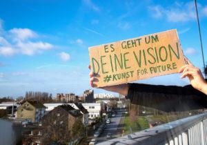 Mach mit beim Zukunftskunst-Wettbewerb #kunstforfuture