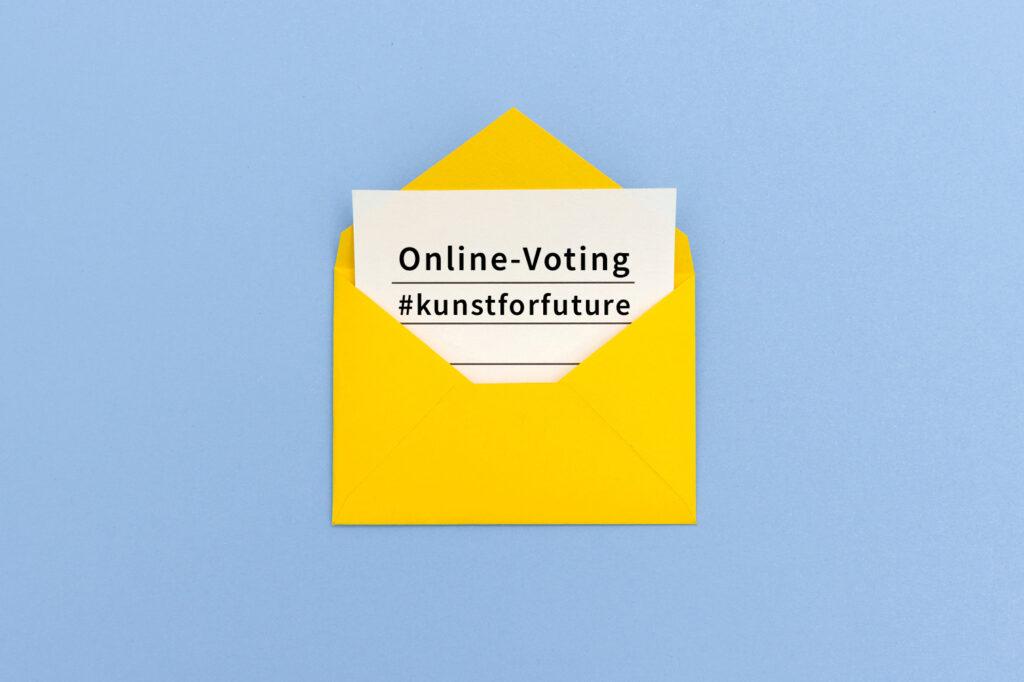 Online-Voting für den Publikumspreis Zukunftskunst-Wettbewerb #kunstforfuture
