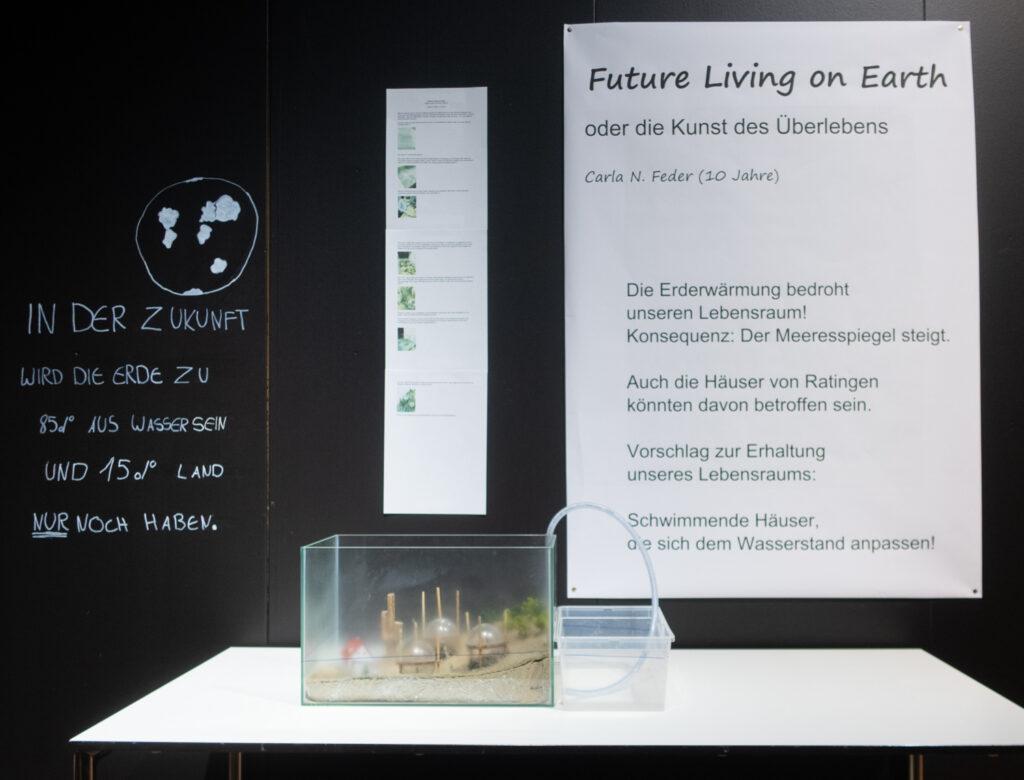 Das Werk von Carla Feder im Rahmen des Zukunftskunst-Wettbewerbs #kunstforfuture 2020. Das Werk ist bis zum 25. Oktober 2020 im LVR-Industriemuseum Haus Cromford in Ratingen zu sehen. Der Wettbewerb findet im Rahmen des Jugendkulturjahrs 2020 der Stadt Ratingen statt. Die Rechte liegen bei dem Autor/ der Autorin.