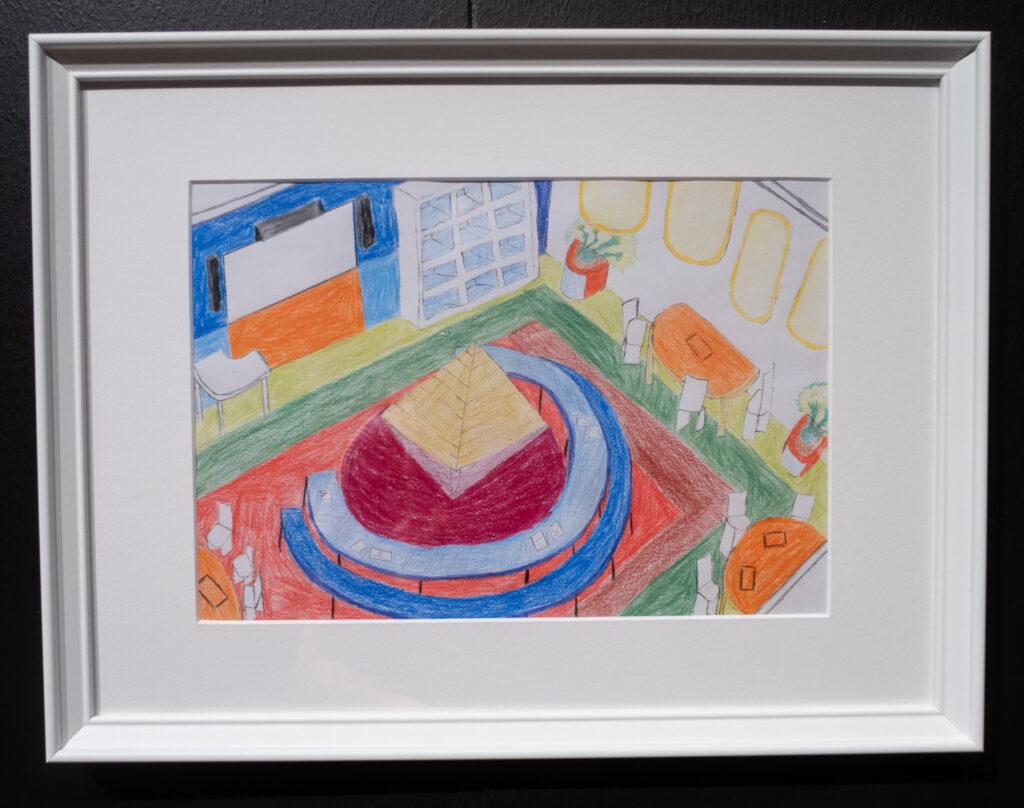 Das Werk von David Fettinger im Rahmen des Zukunftskunst-Wettbewerbs #kunstforfuture 2020. Das Werk ist bis zum 25. Oktober 2020 im LVR-Industriemuseum Haus Cromford in Ratingen zu sehen. Der Wettbewerb findet im Rahmen des Jugendkulturjahrs 2020 der Stadt Ratingen statt. Die Rechte liegen bei dem Autor/ der Autorin.