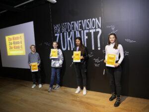 Preisverleihung des Zukunftskunst-Wettbewerbs #kunstforfuture